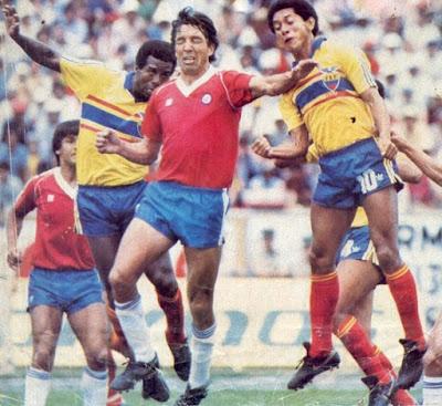 Ecuador y Chile en Clasificatorias a México 1986, 3 de marzo de 1985