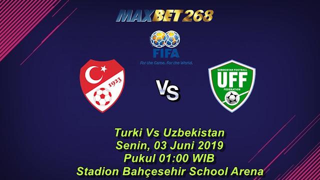 Prediksi Turki Vs Uzbekistan, Senin 03 Juni 2019 Pukul 01.00 WIB