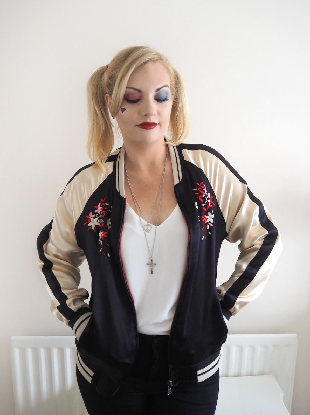 Halloween   Harley Quinn Make Up Look & Outfit