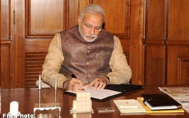 Prime Minister Writes letter to the Farmer Kheemanand of Nainital  District About  The  Crop Insurance scheme