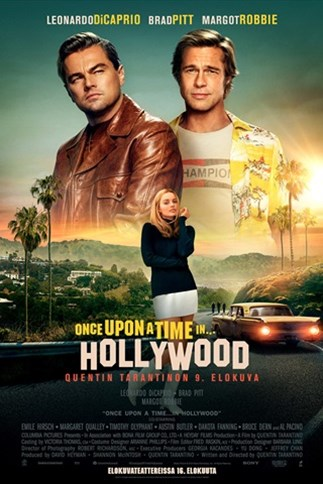Finnkino Once Upon A Time In Hollywood
