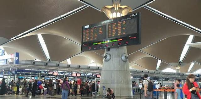 Bandara Kuala Lumpur Kembali Normal Pasca Gangguan Jaringan