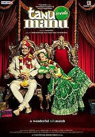 Tanu weds manu movie,top bollywood movies
