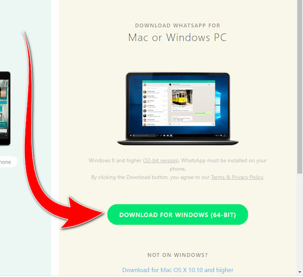 تحميل واتساب ويب للكمبيوتر و ربط الهاتف - Whatsapp Website
