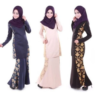 model baju kurung batik modifikasi