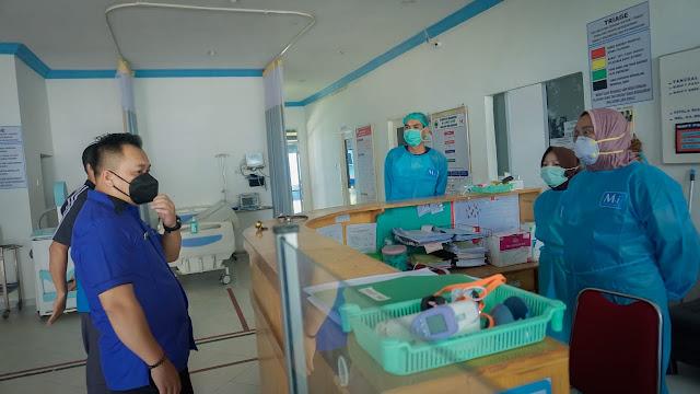 Sidak Bersama Komisi II DPRD, Bupati Lingga Tangapi Keluhan Tenaga Kesehatan  RSUD Dabo