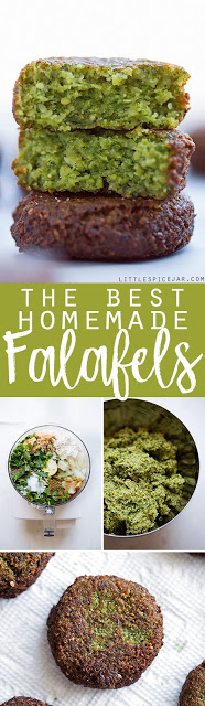 THE BEST HOMEMADE FALAFELS – EASY TO MAKE