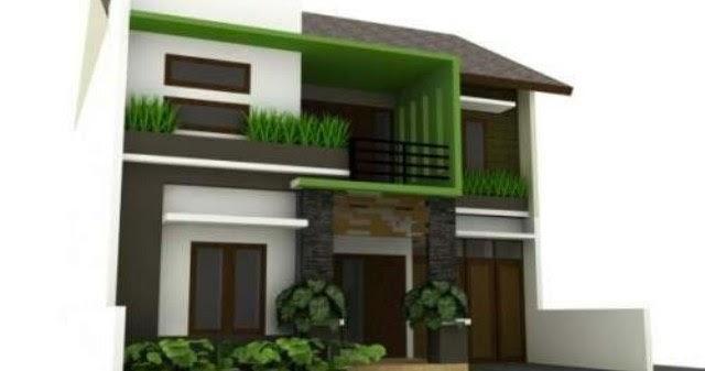 Contoh Gambar Rumah Tingkat Minimalis Desain Gambar
