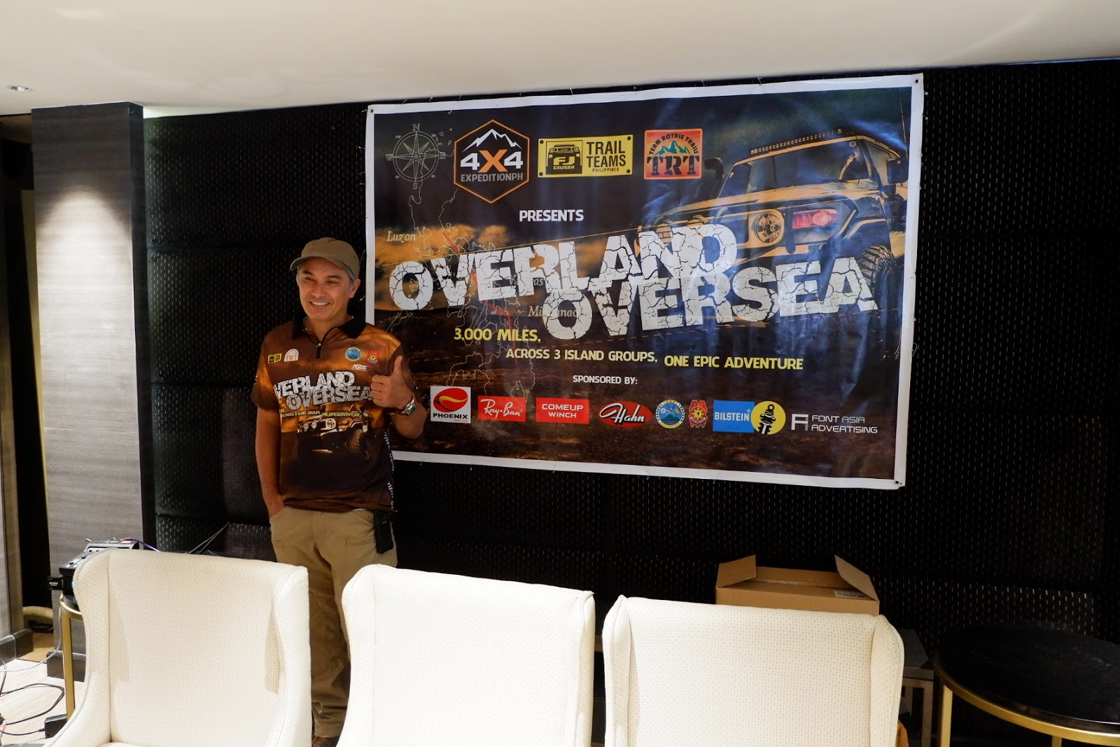 Filipino celebrity joined FJ Cruiser Philippines