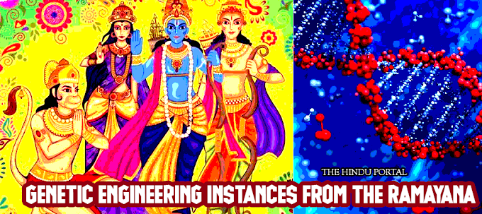 The essence of Genetic Engineering Instances from the Ramayana