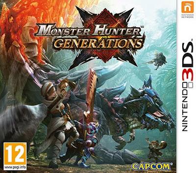 Monster Hunter Generations Decrypted 3DS EUR