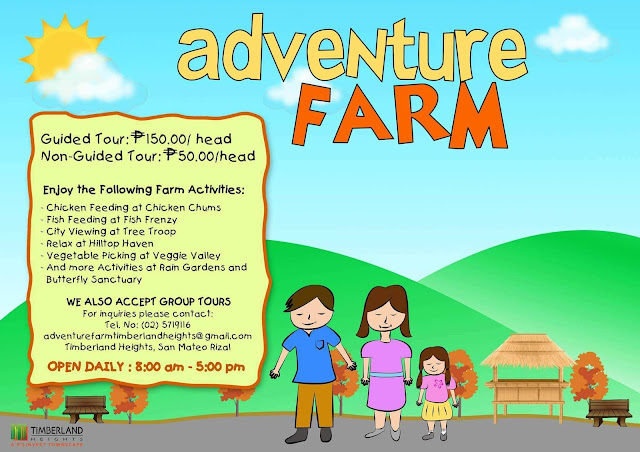 adventure farm tour rates