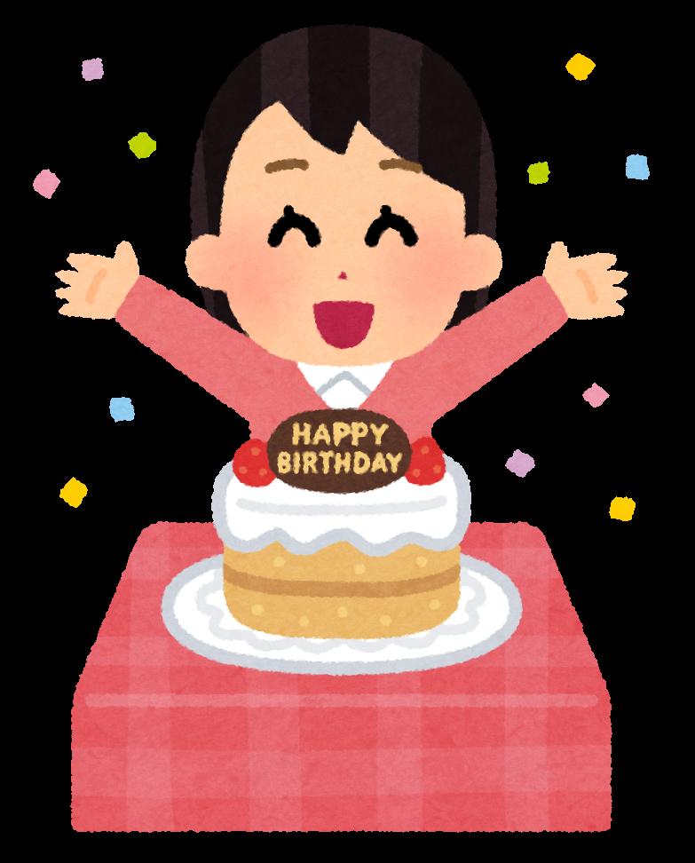 フリー 画像 誕生 日