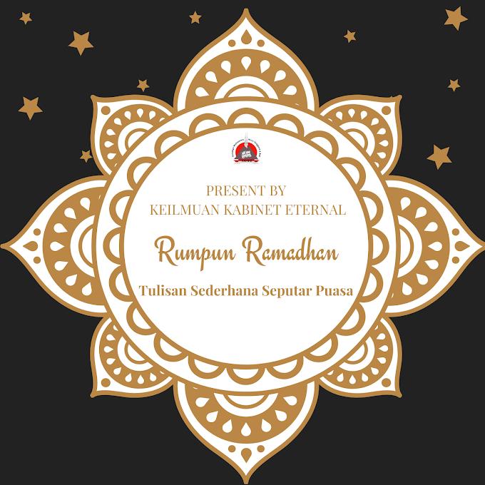 Rumpun Ramadhan (2) : Ingin Bersedekah DI Bulan Ramadhan Namun Tidak Memiliki Uang Dan Harta?