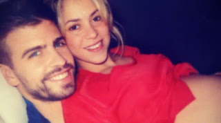 Gerard Pique Of Fc Barcelona And Shakira Pose With The News Photo