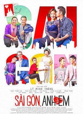 Poster phim: Anh Yêu Em, Sài Gòn 2018