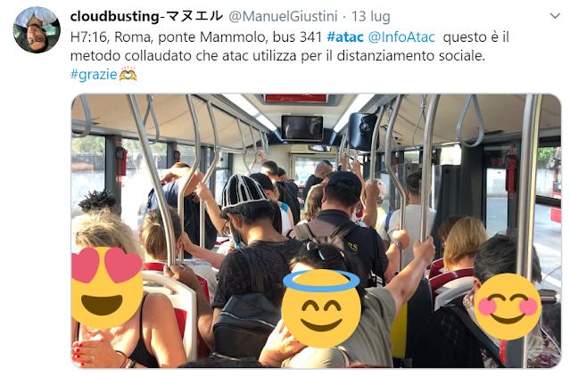 Otto romani su 10 rifiutano i mezzi pubblici. Metro, biglietti giù del 70%