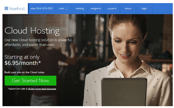 BlueHost Hosting Terbaik Recommended