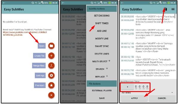 Cara Mengatur Subtitle di VLC Hp Android