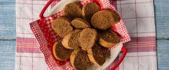 Receita de rabanada assada de pão integral receita fit