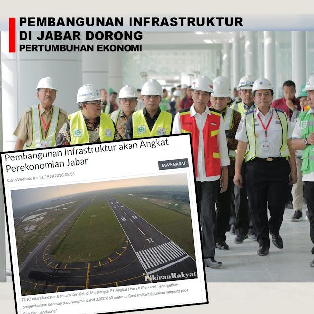 Pembangunan Infrastruktur Akan Angkat Perekonomian Jabar
