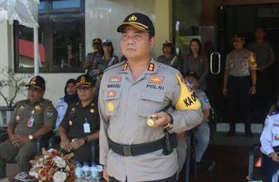 Polres Minsel libatkan 300 Personel Untuk Mengawal Lebaran