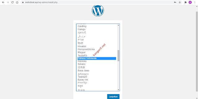 cara install wordpress di linux