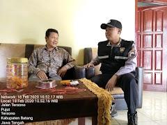 Bhabinkamtibmas Desa Pujut Intensifkan Sambang Ke Desa Binaan