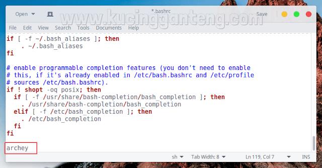 Cara Install Archey di Ubuntu dan Linux Mint