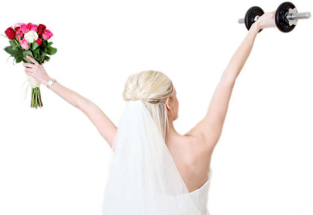 Noivas que fazem exercício físico