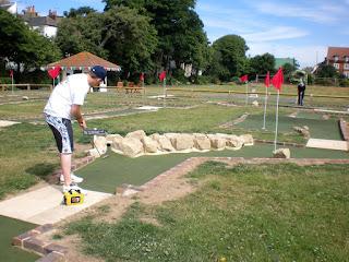 Splash Point Mini Golf in Worthing's Denton Gardens
