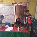 Babinsa Ramil 03 Pangururan Monitoring Pembagian BLT di Desa Sianting-anting