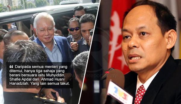 'Kami desak Najib digantikan, namun hanya 3 Menteri sahaja berani bersuara' - Shukri SPRM