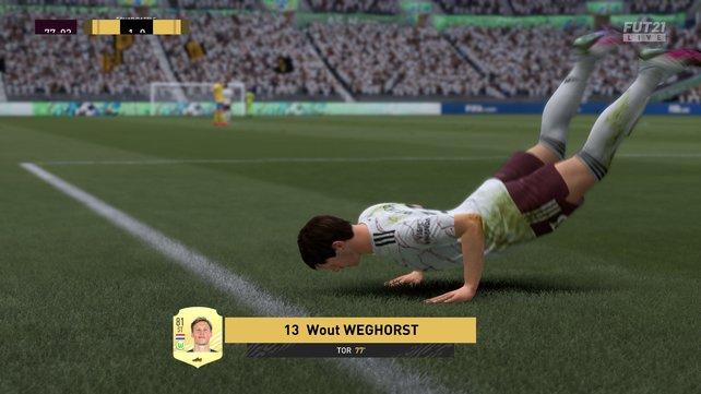 FUT: Activate or skip cheering   FIFA 21
