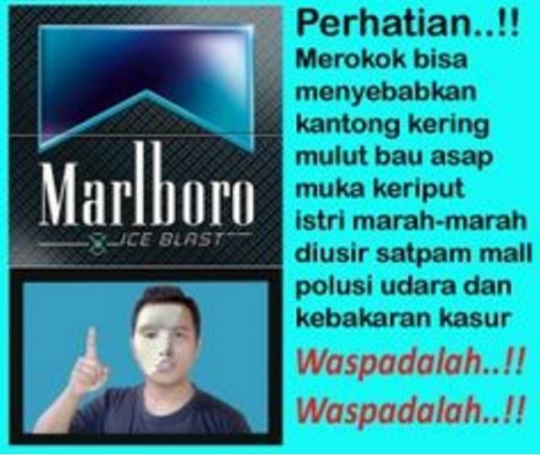Meme Larangan Merokok yang Malah Memotivasi untuk Merokok