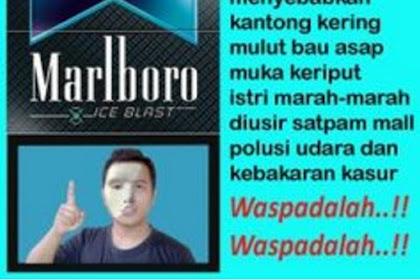Meme Larangan Merokok yang Malah Bikin ngakak