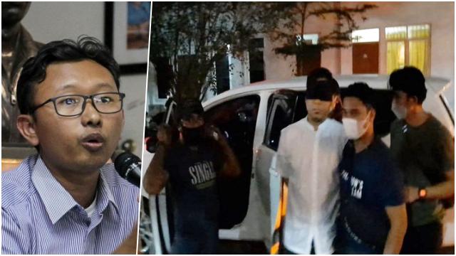 YLBHI Protes Mata Munarman Ditutup saat Tiba di Polda, Alasannya Apa?