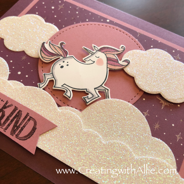 Check out the video tutorial with some AMAZING tips and tricks for making different backgrounds on your cards using Stampin Up's Magical Day bundle and rainbow builder thinlits!  You will love how quick and easy this is to make!  www.creatingwithallie.com #stampinup #alejandragomez #creatingwithallie #videotutorial #cardmaking #papercrafts #handmadegreetingcards #fun #creativity #makeacard #sendacard #stampingisfun #sharewhatyoulove #onestampsetdifferentlooks #kidscards