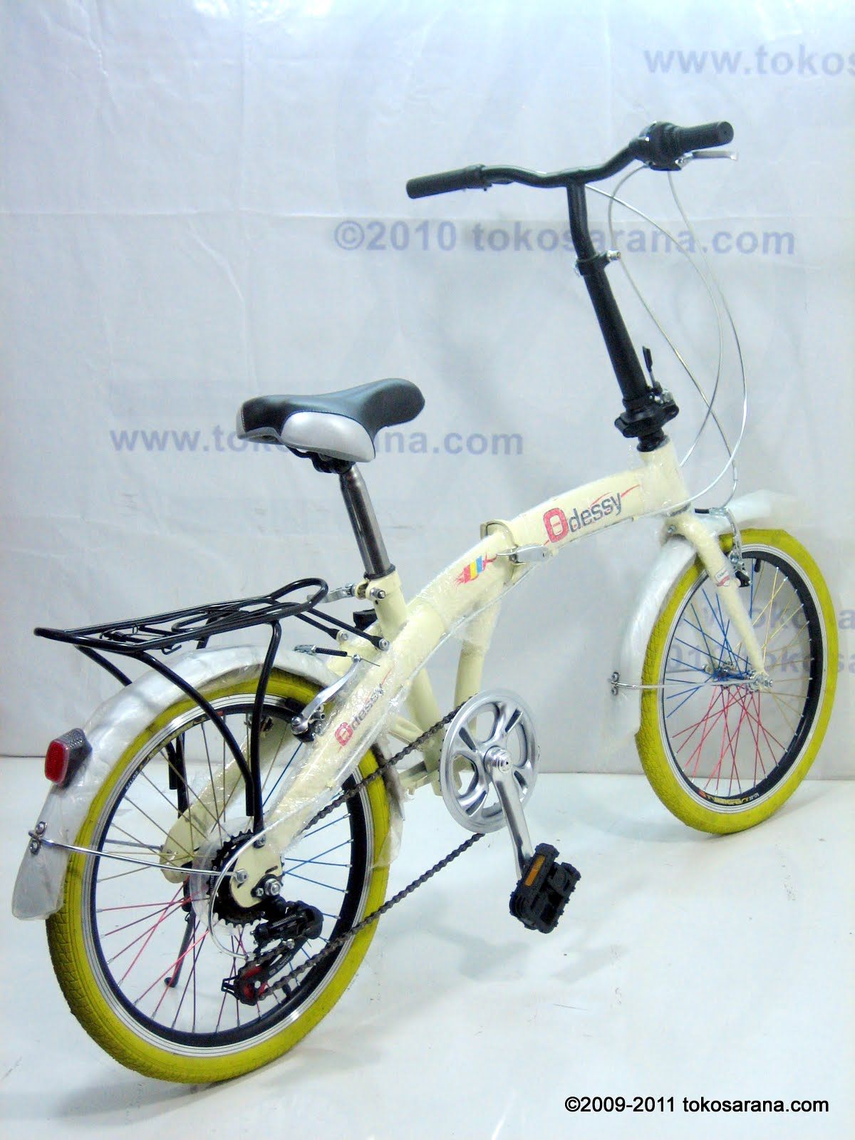 BINTANG HARAPAN: Sepeda Lipat ODESSY 6 Speed Shimano 20 Inci