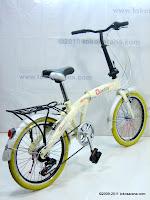 Sepeda Lipat ODESSY 7 Speed Shimano 20 Inci