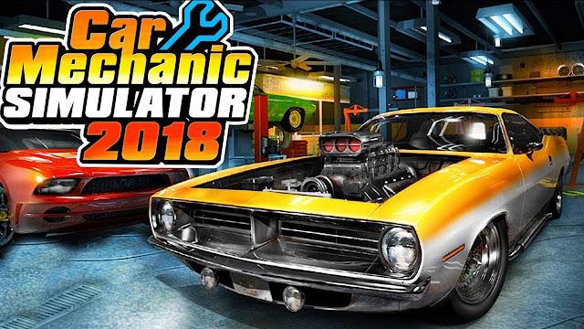 Car Mechanic Simulator 2018 تحميل مجانا ( تحديث 1.6.5)