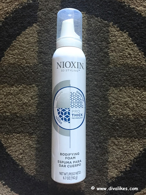 Nioxin 30 Day Challenge For Thicker Fuller Hair Diva Likes