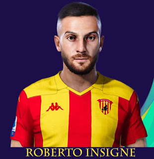 PES 2021 Faces Roberto Insigne by Rachmad ABs