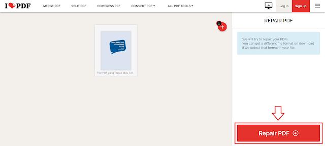 Cara Memperbaiki File PDF Yang Rusak/Corrupt/Tidak Bisa Dibuka Tanpa Aplikasi