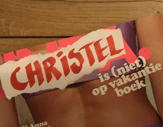 Christel is niet op vakantie boek