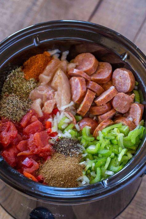 SLOW COOKER JAMBALAYA #recipes #dinnerrecipes #dinnermeals #dinnermealstocook #food #foodporn #healthy #yummy #instafood #foodie #delicious #dinner #breakfast #dessert #lunch #vegan #cake #eatclean #homemade #diet #healthyfood #cleaneating #foodstagram
