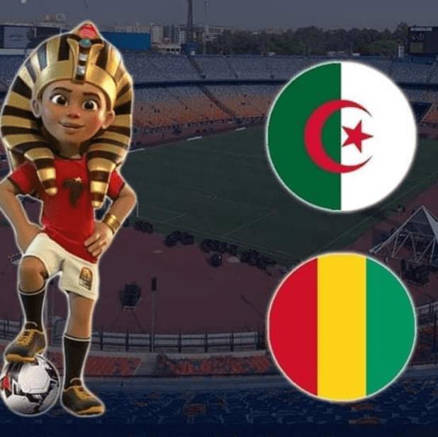 مشاهدة مباراة الجزائر وغينيا