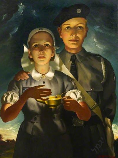 Divertimento Enfermero.: La enfermería en la pintura de Anna K ...