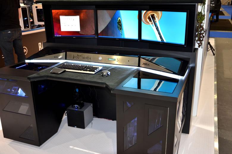 pc生活 パソコン製作 desk型パソコンケースの写真を集めてみた