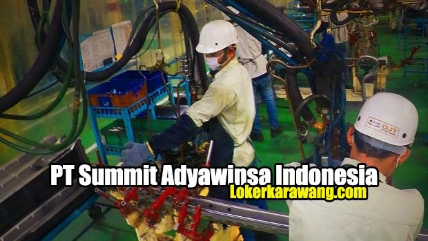 PT Summit Adyawinsa Indonesia Karawang